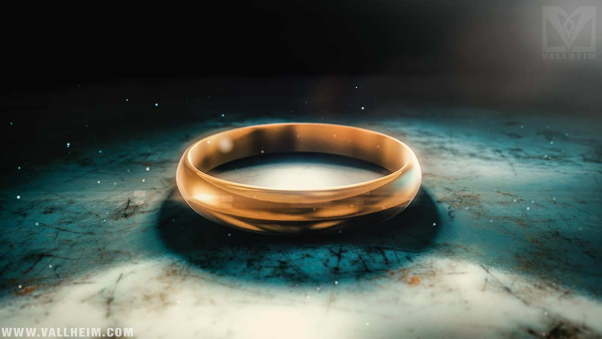 cursed golden ring norse mythology