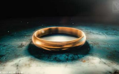 A cursed golden ring