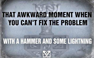 When you can´t fix the problem… (MEM)